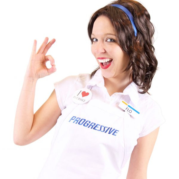 Progressive Flo Costume Set