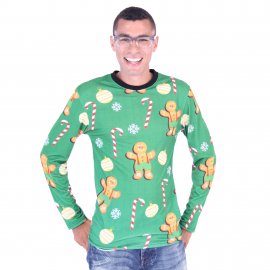 Gingerbread Cookies Sublimation Shirt