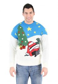 Santas Butt Crack Ugly Christmas Sweater 2