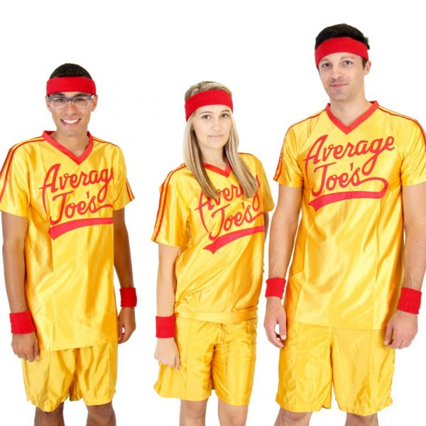 Dodgeball Movie Average Joe's Costume Set