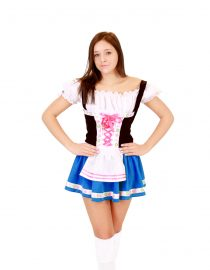 bavarian short womens costume 1