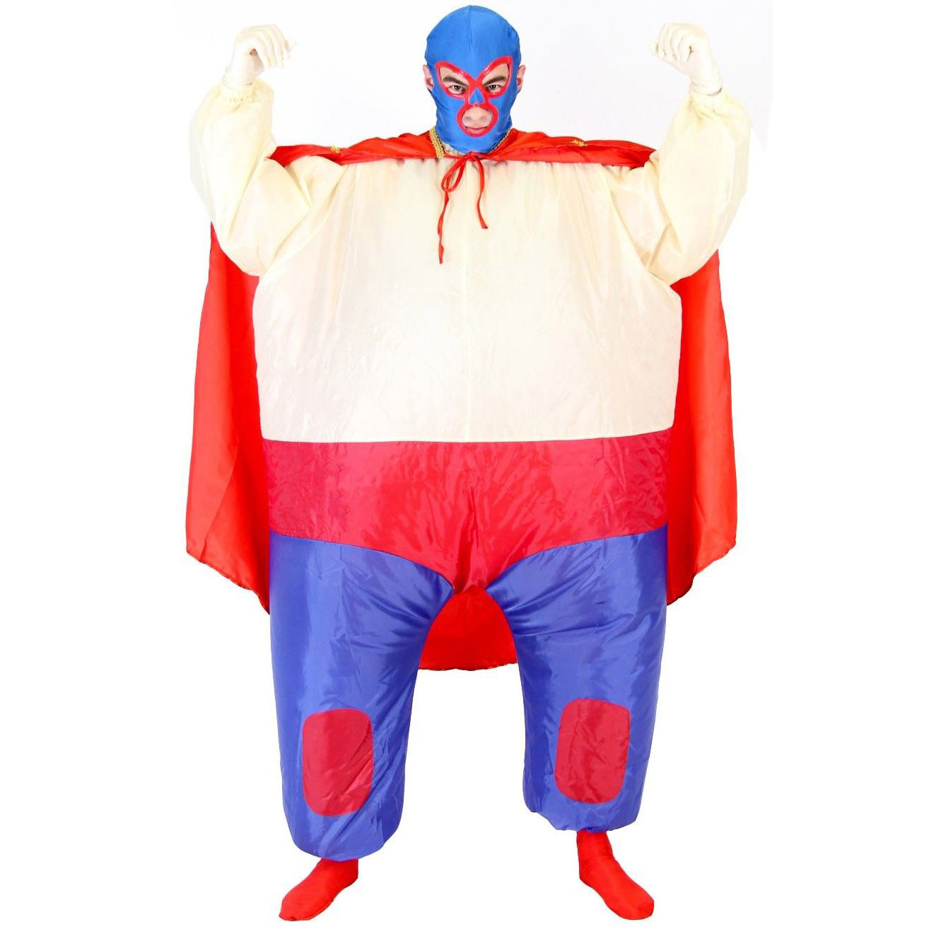 Mexican Wrestler Chub Suit